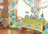 """День рождения в стиле """"Smurfs"""" (смурфики)"""
