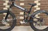 Велосипед Фэтбайк Хаммер, черный - 24 скорости
