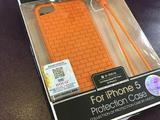 Качественный силикон Hoco. iPhone 5/5s. Оранж